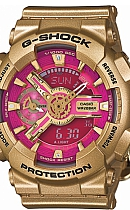 купить часы Casio G-Shock GMA-S110GD-4A1ER